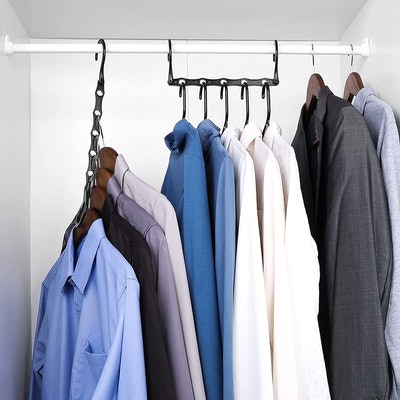 HOUSE DAY Space Saving Hangers (Pack of 16)