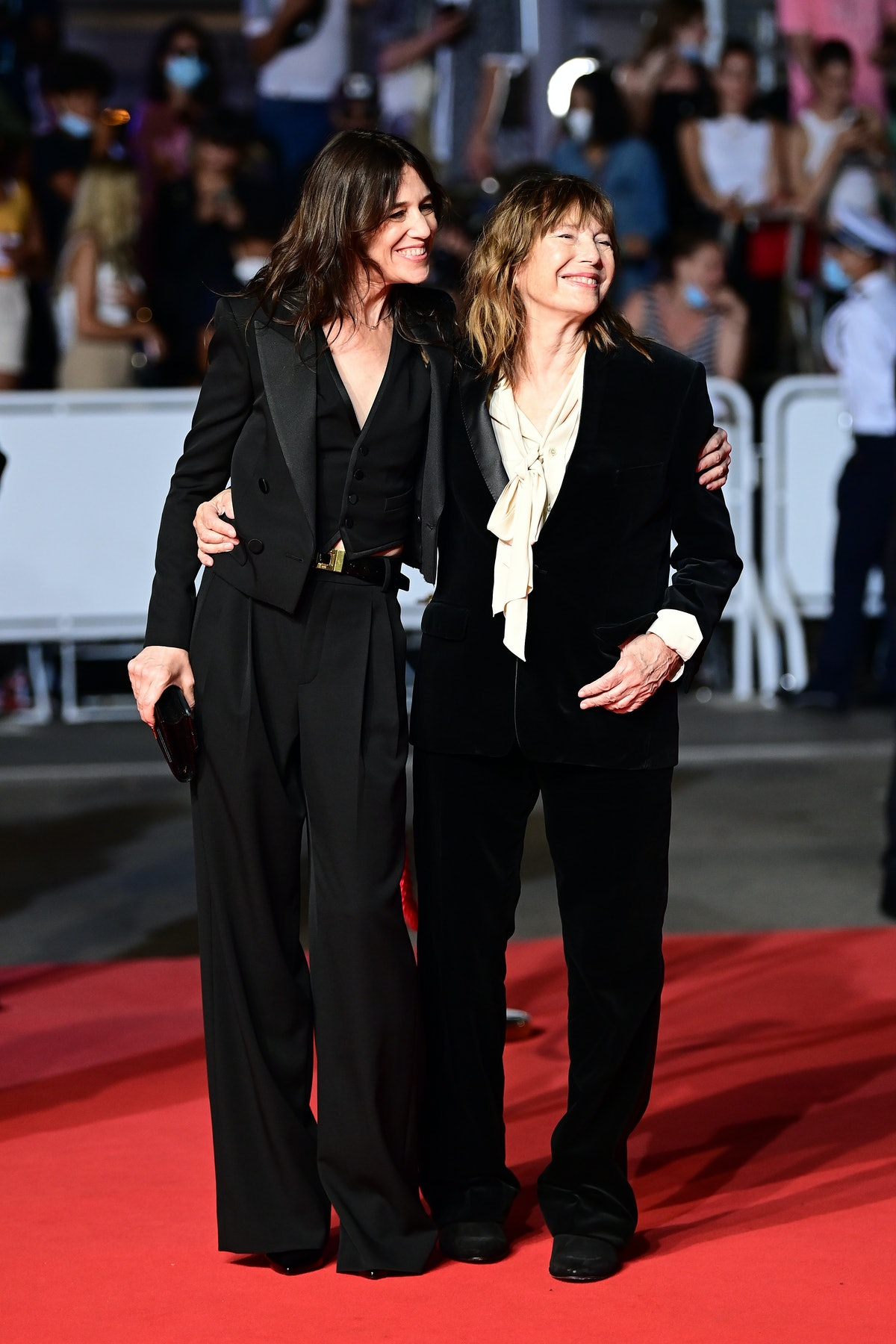 Charlotte Gainsbourg and Jane Birkin