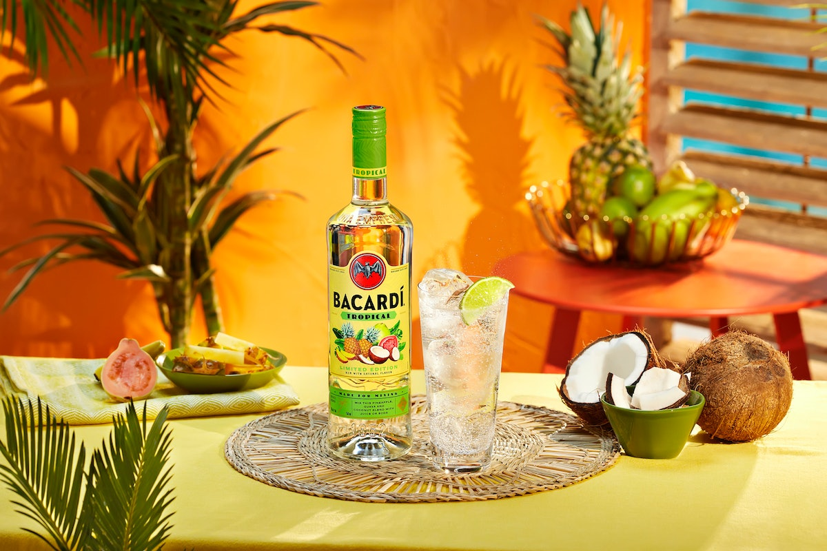 Here's where to grab a bottle of Bacardí's new Tropical Rum for summer.