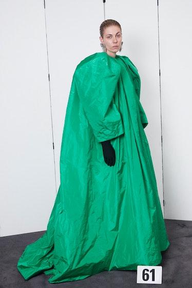 Balenciaga fall couture 2021