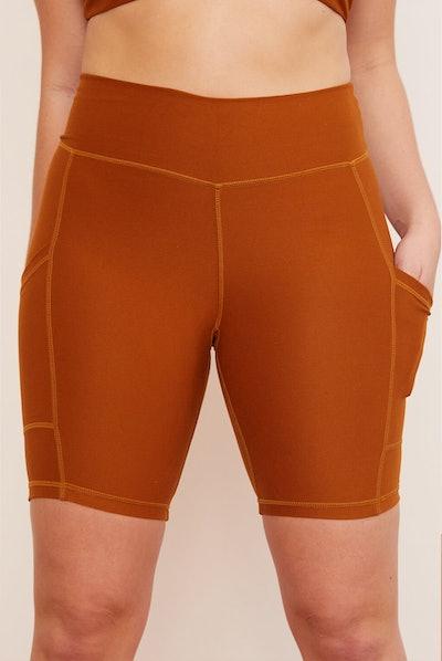 Turmeric Pocket Bike Short