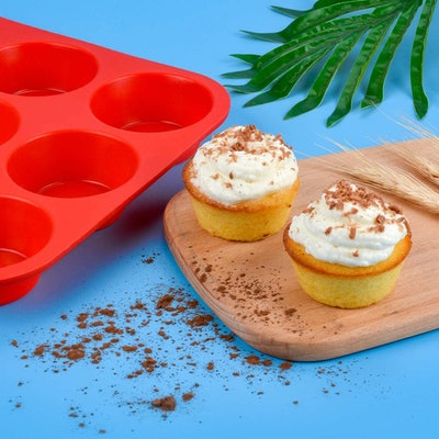 CAKETIME Silicone Muffin Pan