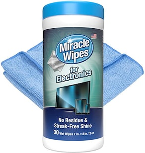 MiracleWipes for Electronics Cleaning (30-Pack)