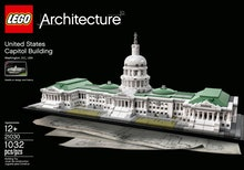 Image of the front of the box of LEGO Architecture set for the U.S. Capitol building.