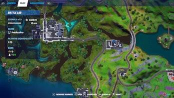 fortnite zyg and choppy location map