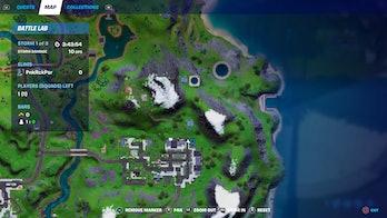 fortnite cb radio location 2 map