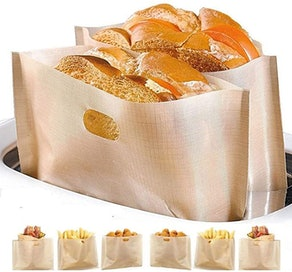 YOOCOOL Non Stick Toaster Bags (4-Pack)