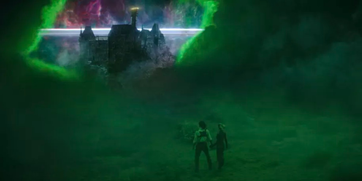 The Castle in the Void in 'Loki' Episode 5