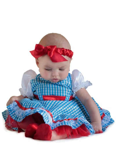 baby dressed as Dorothy from The Wizard of Oz