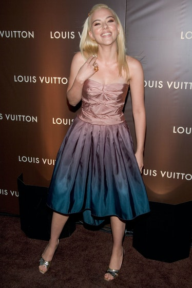 Scarlet Johnasson in Louis Vuitton.