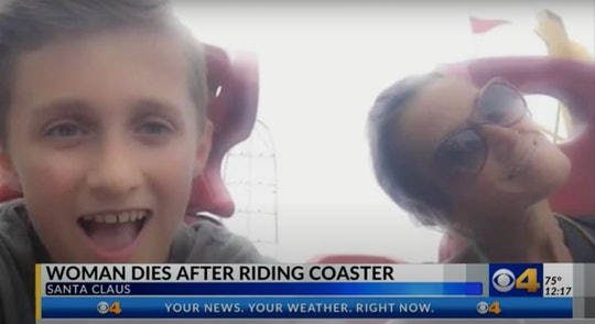 An Ohio woman and mother died from internal bleeding after riding an rollercoaster at an Indiana the...