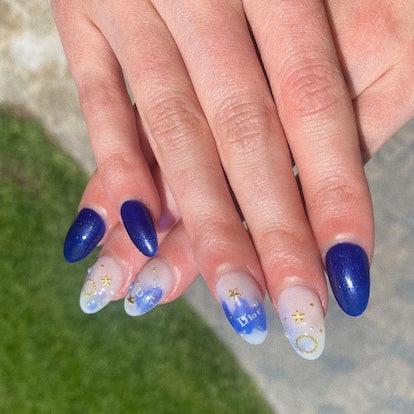 Anya-Taylor Joy Dior nails