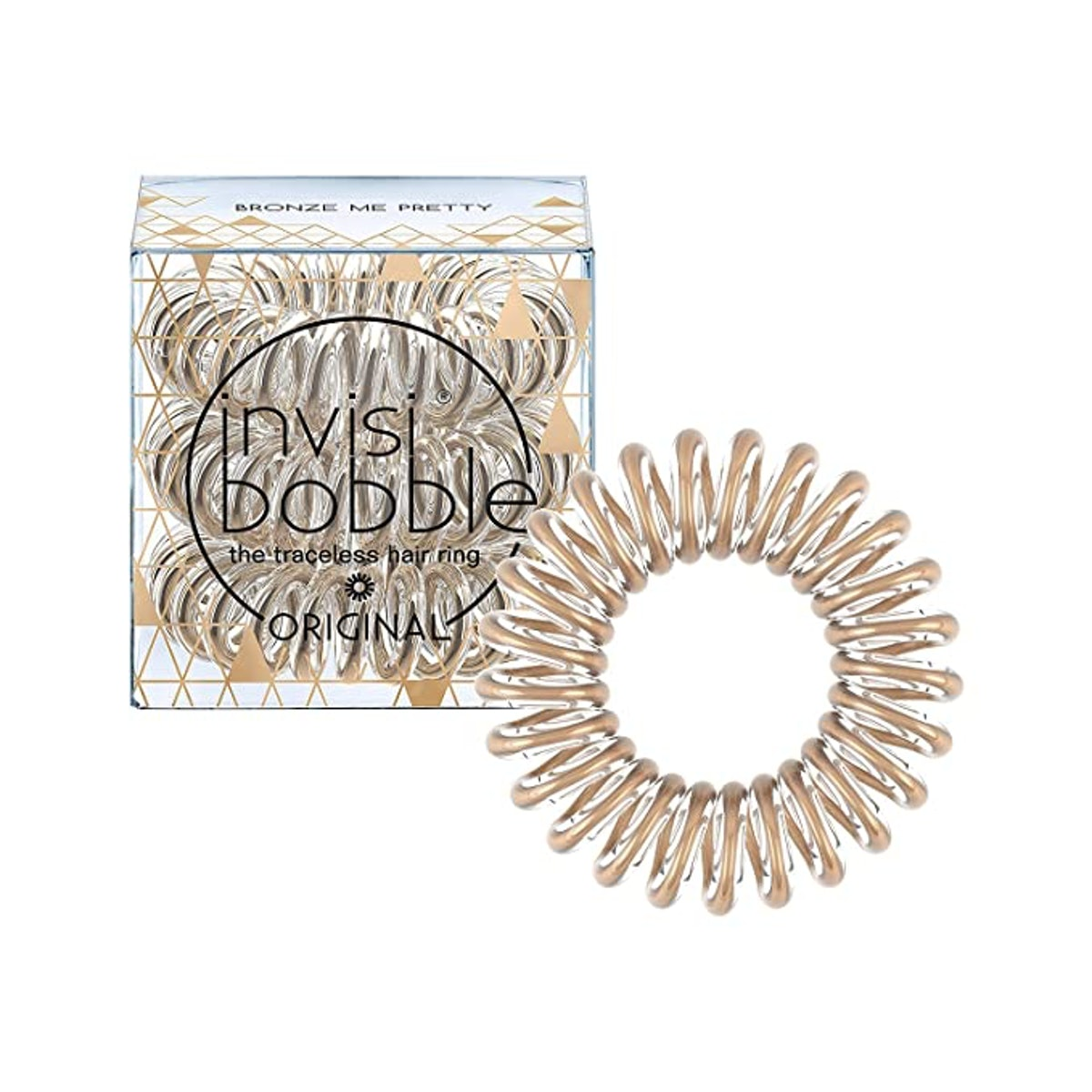 invisibobble Original Traceless Spiral Hair Ties (3-Piece)