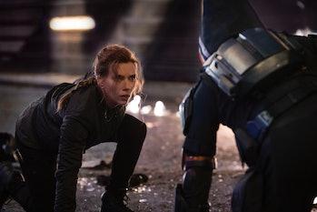 Black Widow in Black Widow.