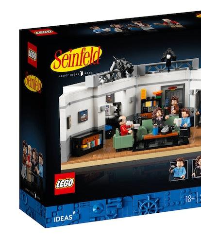 Lego Seinfeld. Toys. TV. Television. Entertainment.