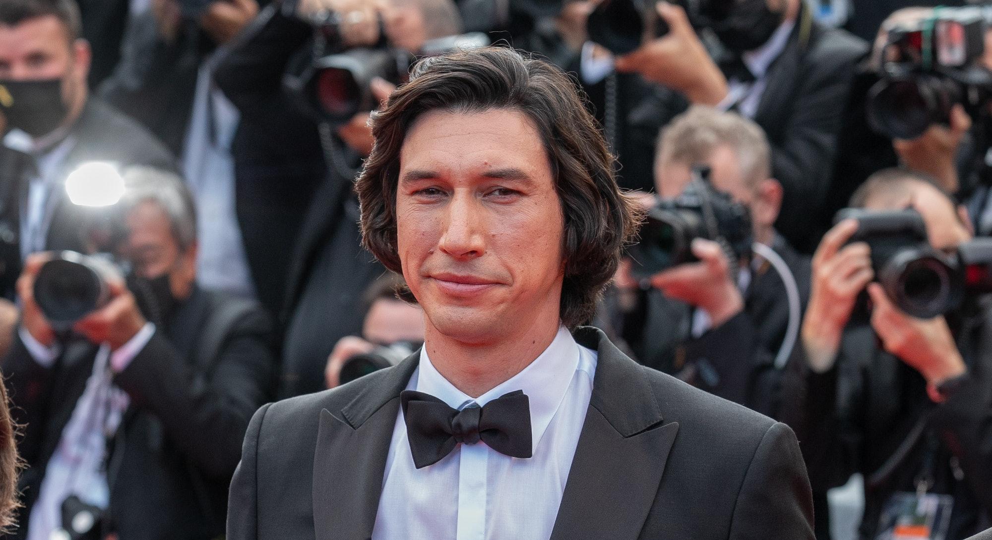 Adam Driver at the 'Annette' Cannes premiere.