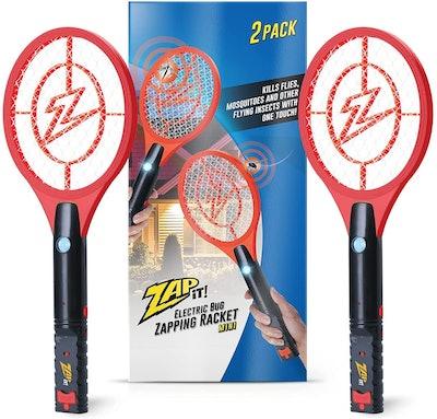 Zap It Bug Zapper Racket (Set of 2)