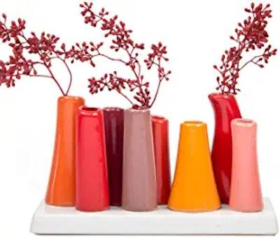 Chive Unique Rectangle Ceramic Flower Vases
