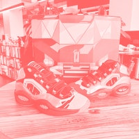 A closer look at Reebok's flashy 'Power Rangers' Megazord sneakers