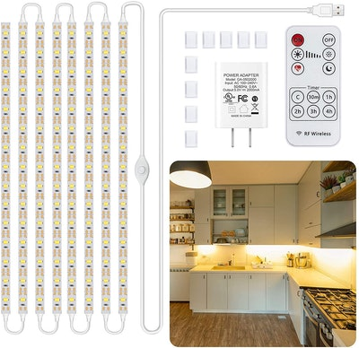 Lafulit Under Cabinet Lighting Kit (8-PCS)