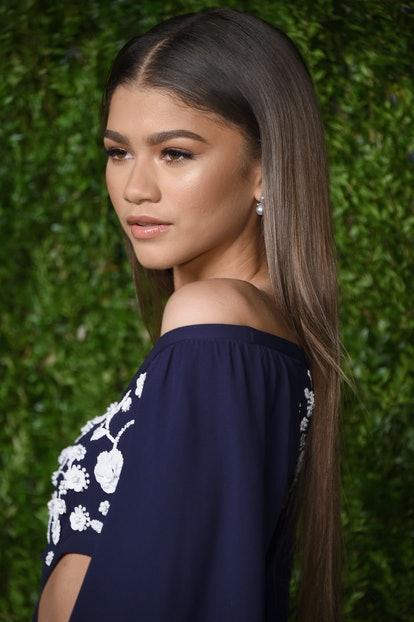 Pin-straight hair was a dominating trend of the early aughts, and Zendaya rocked the look at an event in 2016.