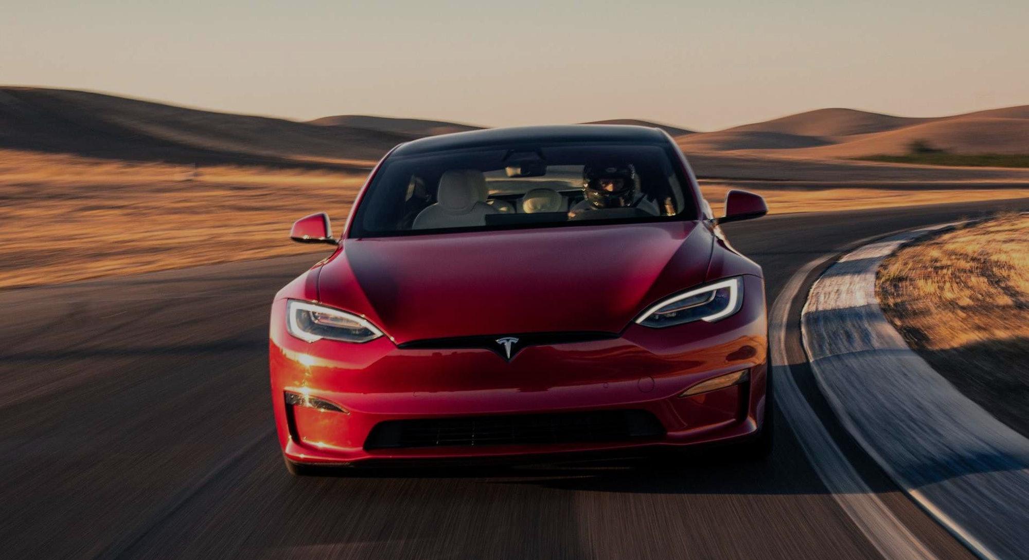 Tesla's Model S Plaid