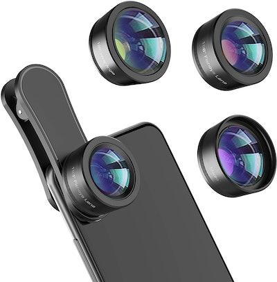 LEKNES 3-In-1 Phone Camera Lens Kit