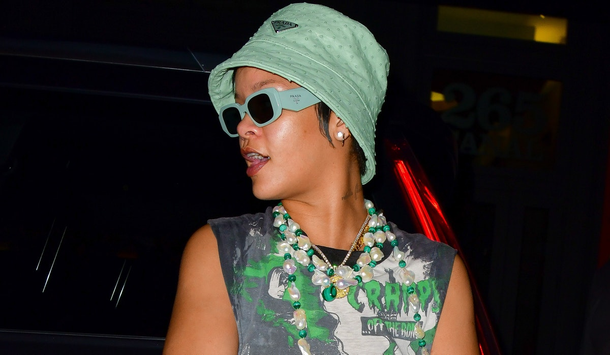 Rihanna Prada Bucket Hat Cramps