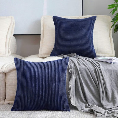 Home Brilliant Decorative Throw Pillow Covers (2- Pack)