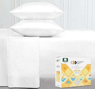 California Design Den Store Cotton Sheets Set (Queen)