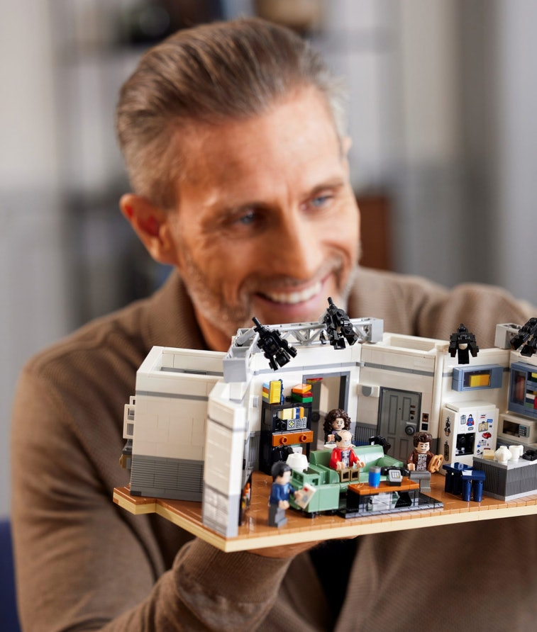 Lego is releasing a kit based on Jerry's apartment in 'Seinfeld'.  Toys. TV. Television. Entertainme...