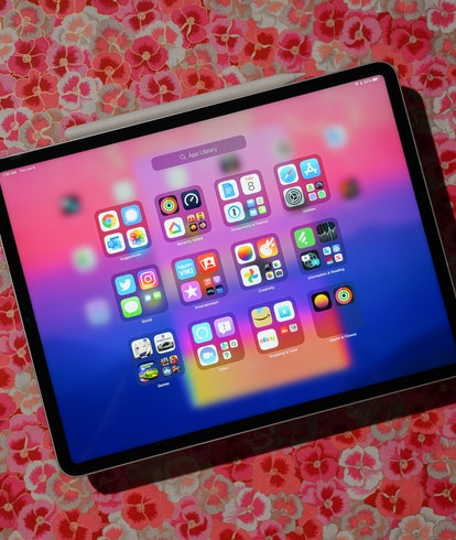 M1 iPad Pro review: App Library running on iPadOS 15