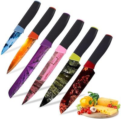 Numola Colorful Knife Set (6 Pieces)