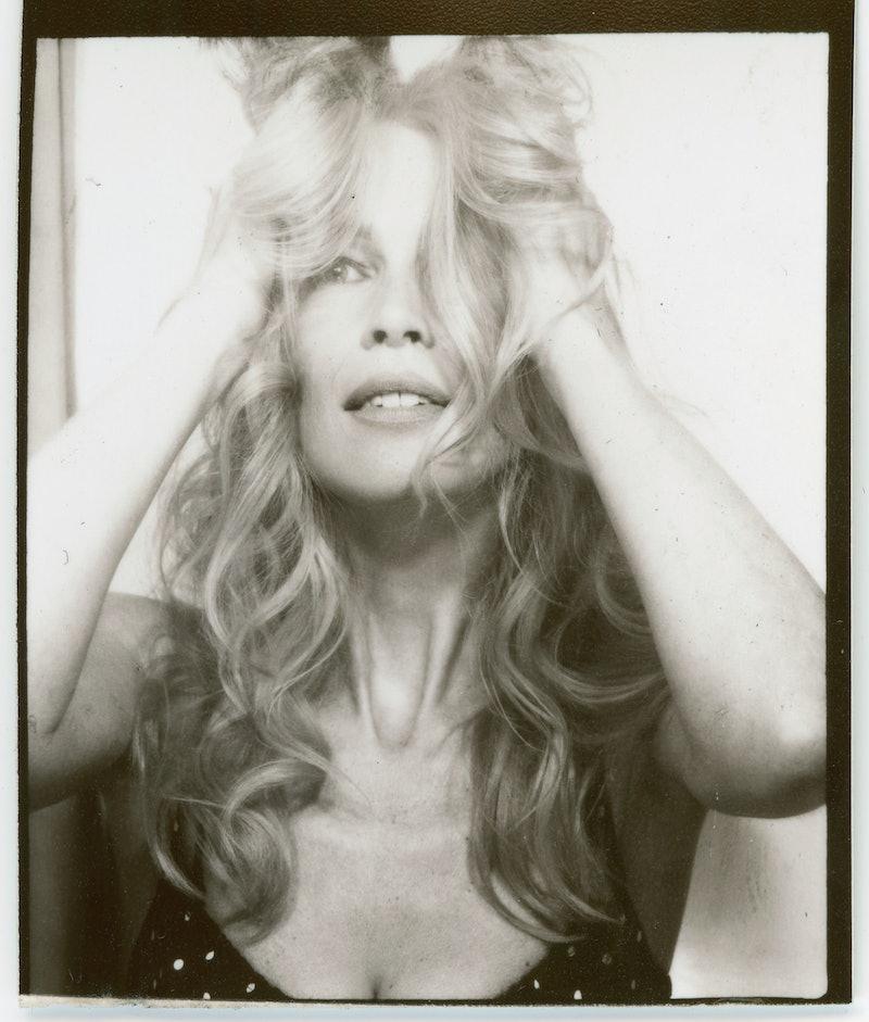Nineties supermodel Claudia Schiffer models for her new Réalization Par x Claudia Schiffer SUPER RÉA...