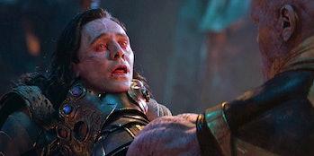 Loki's death in Avengers: Infinity War