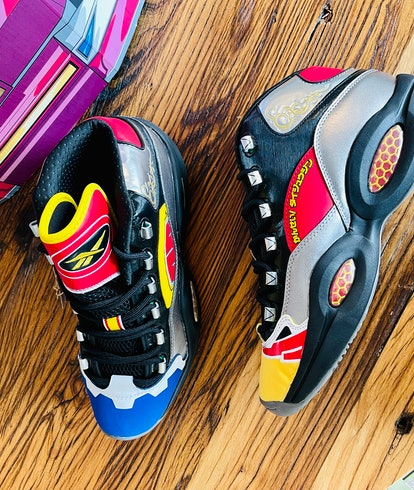 Reebok Power Rangers Question Mid basketball sneakers shoes