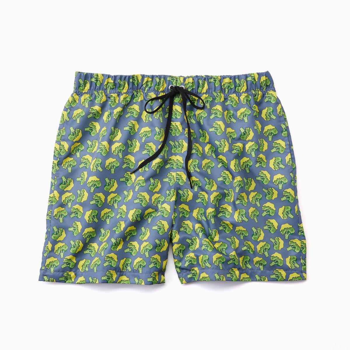 Panera's Swim Soup summer 2021 collection features swim trunks.