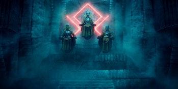 Loki WandaVision Mephisto theory comics