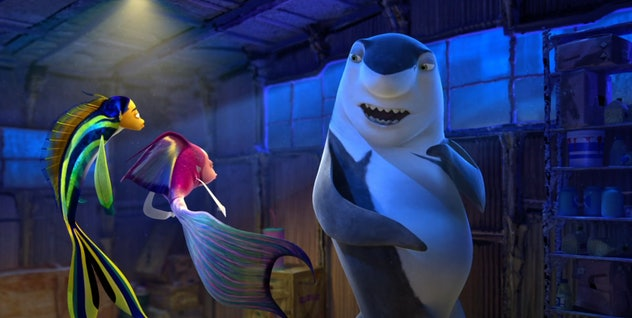 Will Smith stars in the 2004 film, 'Shark Tale.'