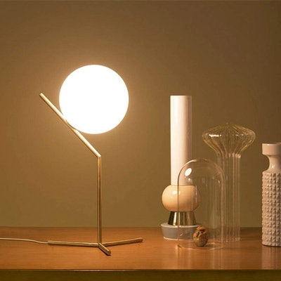 Dellemade Globe Table Lamp