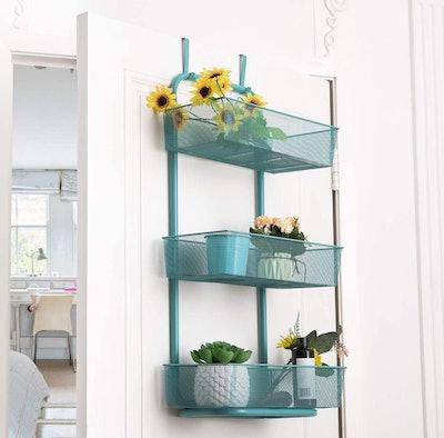 BTY Over the Door Basket Hanger