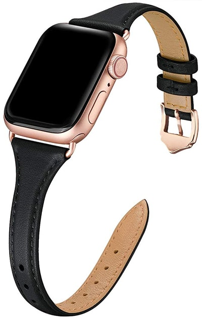 WFEAGL Leather Bands Compatible with Apple Watch