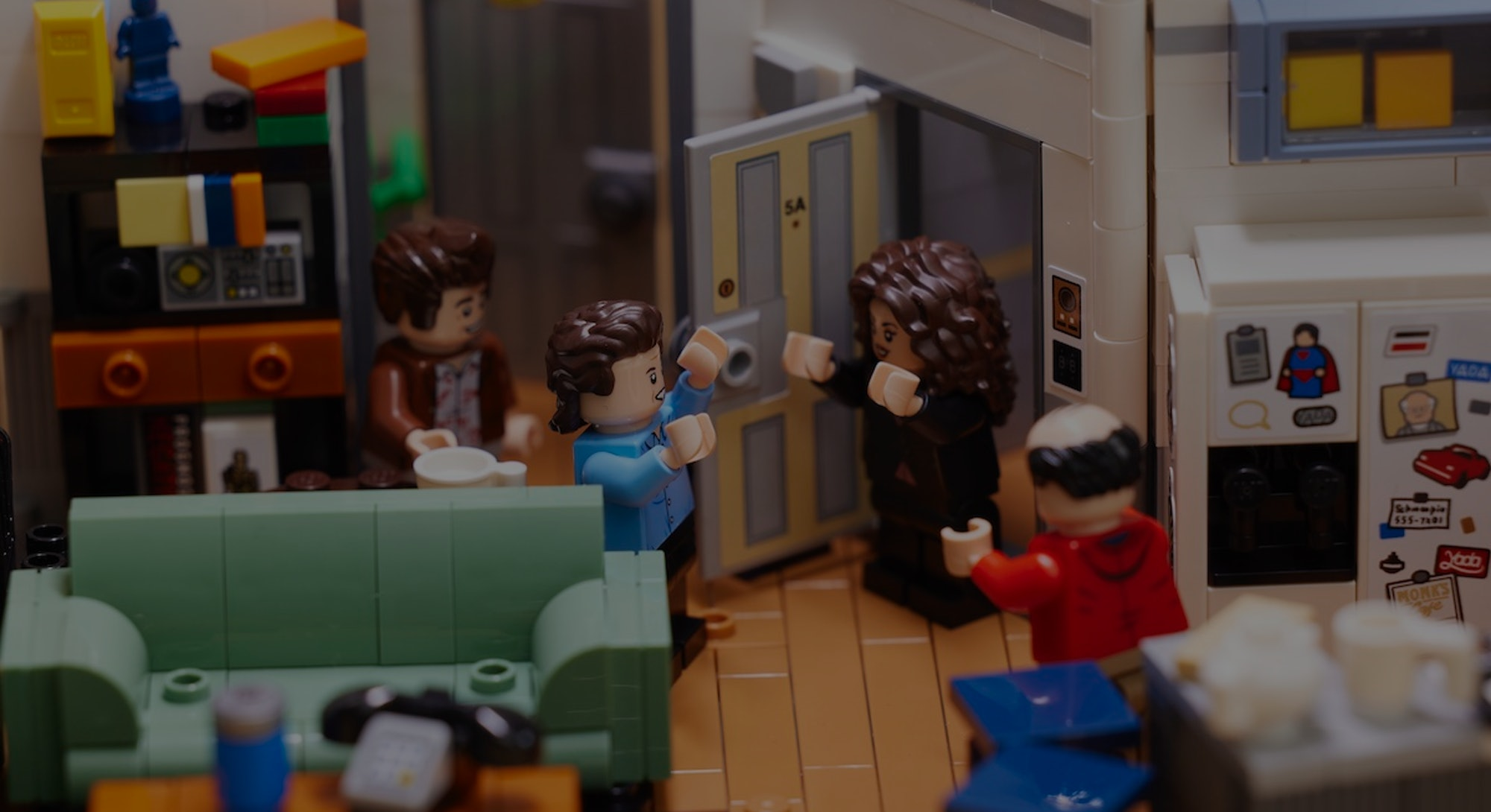 Lego is releasing a kit based on Jerry's apartment in 'Seinfeld'.