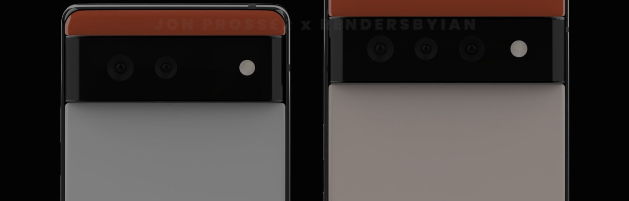 Google Pixel 6 and 6 Pro leaked images