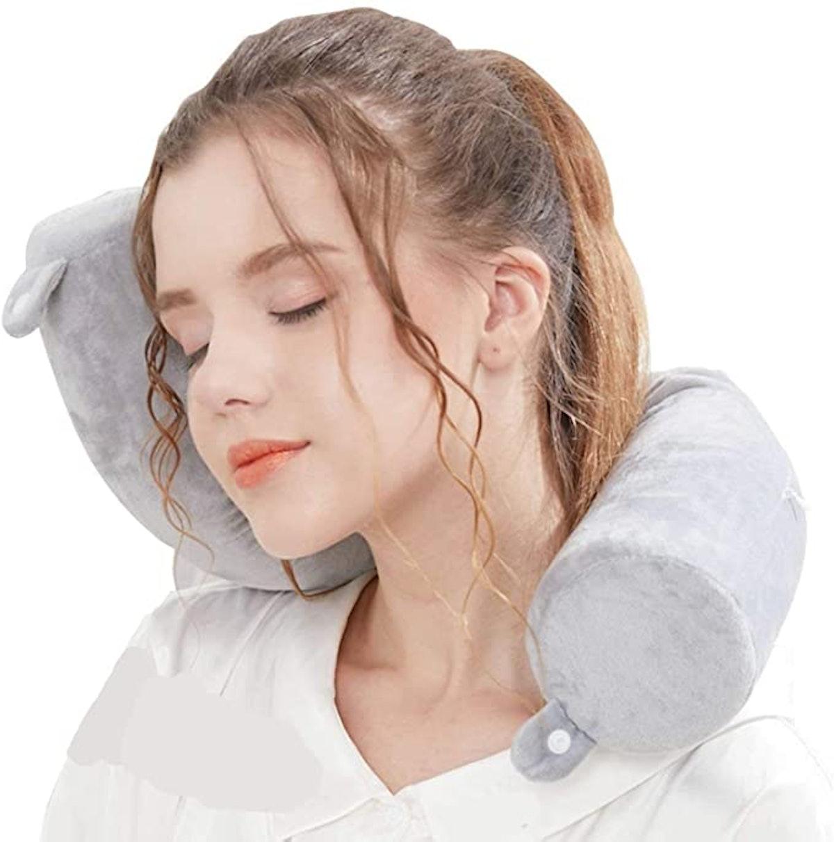Lucear Memory Foam Travel Pillow