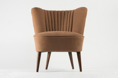 Completely Restored Cocktail Chair from 1970s