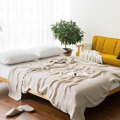 EMME Muslin Throw Blanket