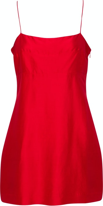 The Uta Dress in Réal Red