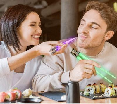 Luxxis LED Lightsaber Chopsticks (2 Pairs)