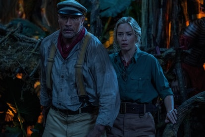 Dwayne 'The Rock' Johnson and Emily Blunt star in the new Disney film, Jungle Cruise.